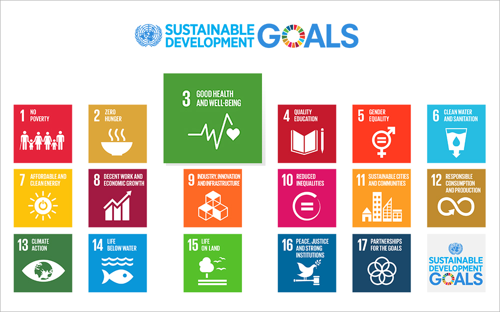 SUSTAINABLE DEVELOPMENT GOALS : 3. GOOD HEALTH AND WELL-BEIN